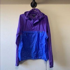 Patagonia Retro Hooded Windbreaker Jacket Sz L
